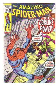 Amazing #98. Last issue of Spidey's no-code trilogy