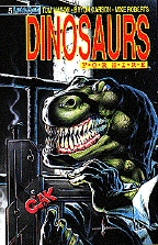 Keown's Dinos for Hire cover