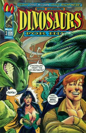 Another Keown Dinosaurs for Hire cover