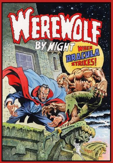Dracula vs. Werewolf by Night by Ploog