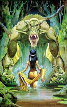 Ploog Monster Fantasy Art
