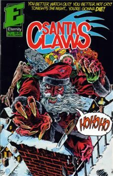 Eternity's SANTA CLAWS written by R.A. Jones & me