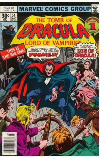 Tomb of Dracula #54 cover by Gene Colan