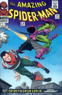 Romita Sr.'s first Spidey cover (notice the Code Authority Stamp OVER the logo)