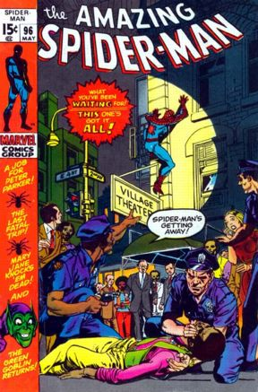 Gil Kane's first Spidey cover