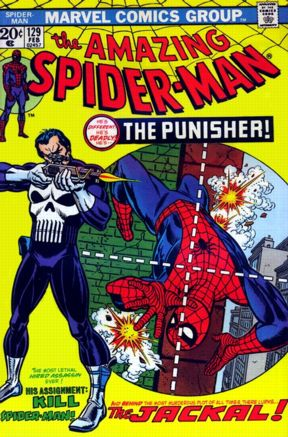 Gil Kane's most famous Spidey cover