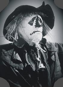 McGoohan as The Scarecrow