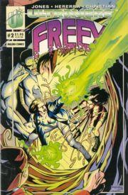 Cover Freex #2 by Ben Herrera