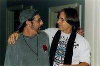 Gary Guzzo (left) and friend