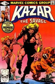 Jones/Anderson KAZAR THE SAVAGE #1