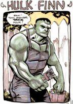 Hulk commission by Jeff Parker