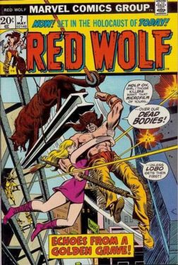"Red Wolf #7 (does the cover say ""holocaust"" ?)"