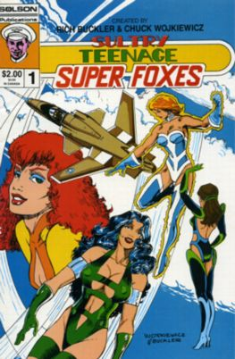 Sultry Teenage Super Foxes by Solson