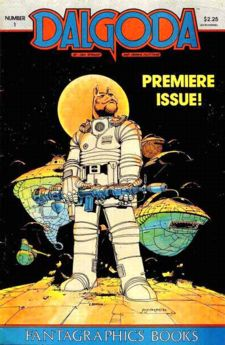 Not from 1986, but I learned a lot about promoting comics when Fantagraphics released DALGODA