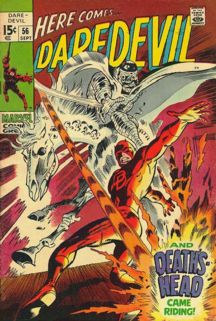 Nothing cooler than a Colan Daredevil cover