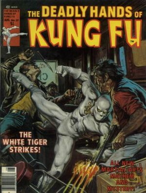 Mantlo also created THE WHITE TIGER