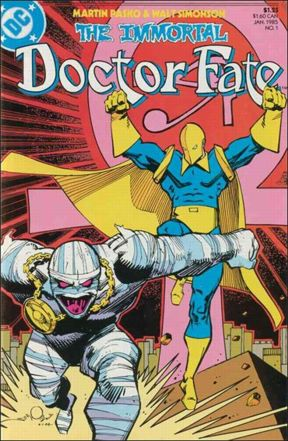 Immortal Doctor Fate #1