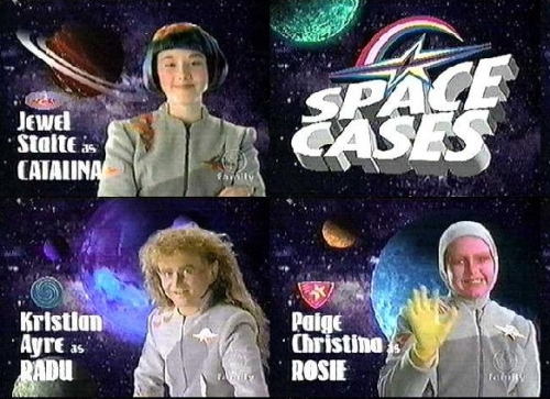 The young Jewel Staite (upper left) from SPACE CASES promo