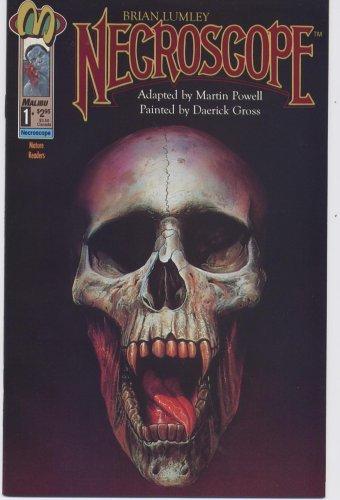 Lumley's NECROSCOPE comic by Malibu & Powell