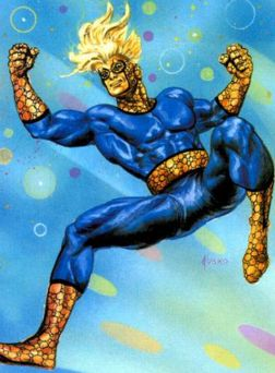SPEEDBALL by regular Fanatic reader Joe Jusko (Hi Joe!)