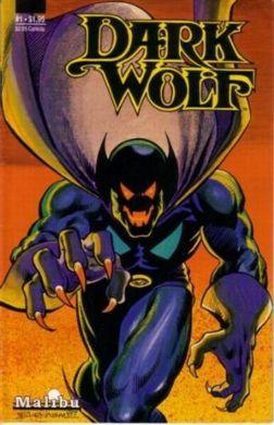 Malibu's first release, DARK WOLF #1