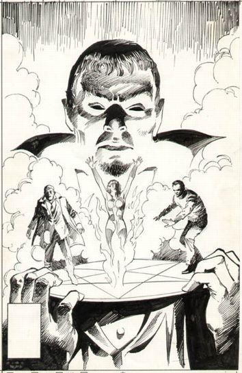 Pencil & Ink NIGHT FORCE #1 cover art