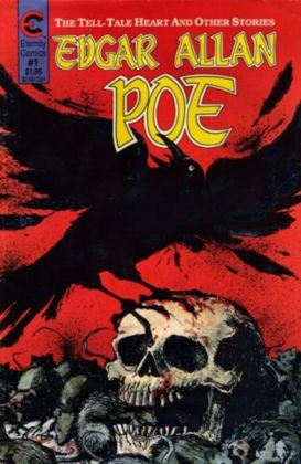 Edgar Allan Poe: Tell Tale Heart cover by Brooks Hagen