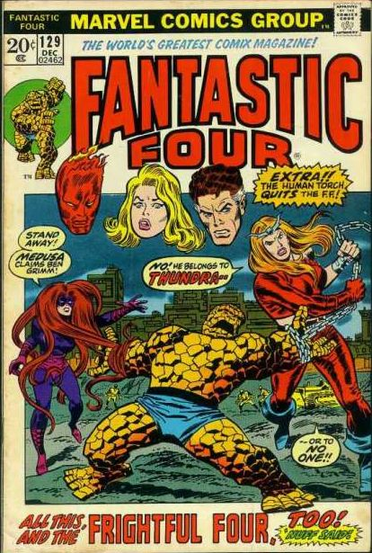 The first appearance of Thundra