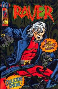 RAVER written by Walter Koenig, published by Malibu