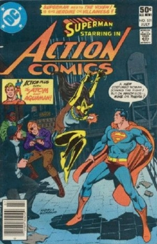Vixen's actual first appearance: Action #521