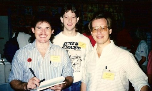 Artist Steven Butler, Writer Roland Mann and ME!